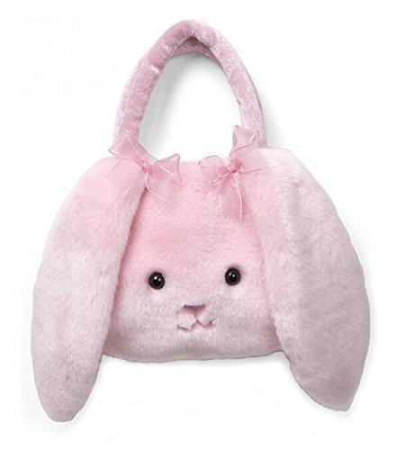 Smilesky Plush Purses Bunny Kids Toddlers Young Girls Handbag Bags Pink