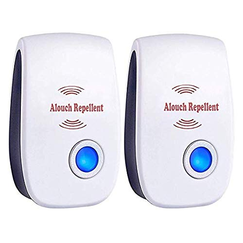 Huiron EU Plug Electronic Pest Repeller Ultrasonic Rejector Mouse Mosquito Rat Mouse Repellent Anti Mosquito Repeller (2pack) - Garden Pest-repeller