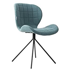 ZUIVER Chaise OMG bleue