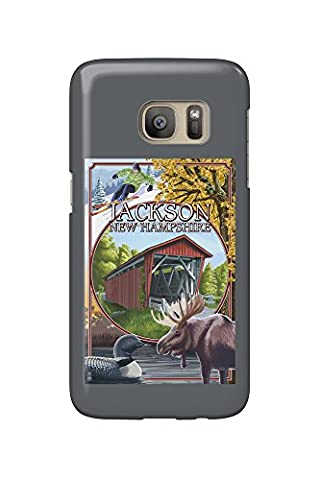 Jackson, New Hampshire Montage (Galaxy S7 Cell Phone Case, Slim Barely There)