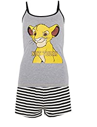 ladies Pyjamas Pyjama set Disney Lion King size M 10-12