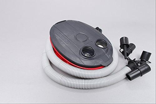 Fußpumpen Blasebalg Luftpumpe für Schlauchboote 3 Liter