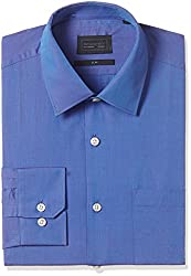 blackberrys Mens Dress Shirt (8907196316200_NL-C0X-SP-MODENA_44_Blue)