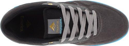 Emerica the Heritic, Sneaker Uomo grigio (dark grey/light blue)