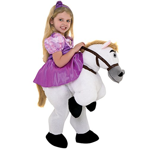 Maximus Kostüm - Morph Costumes MLKDRPREM Princesses Maximus Pony Prinzessinen, Mädchen, Rapunzel, 5-6 Years