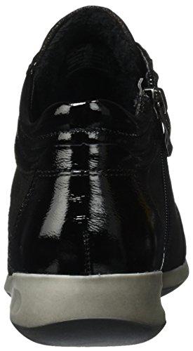 ara Damen Rom-Stf 12-44487 Hohe Sneaker Schwarz (Schwarz)