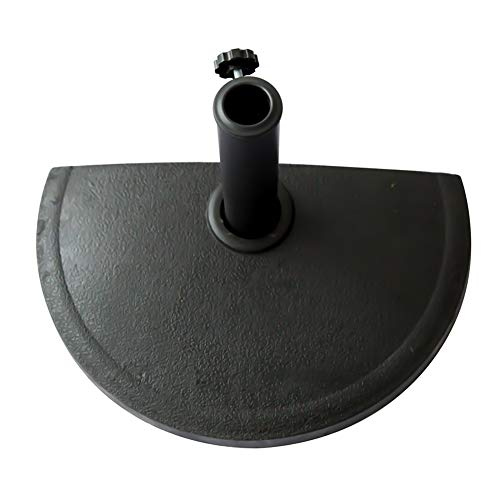 C-Hopetree Regenschirmständer für den Außenbereich, strapazierfähig 20lbs schwarz