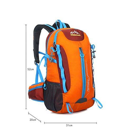 Pathfinder Pionier im Freien Wanderrucksack Tasche wasserdicht Stoffbeutel neu Gelb
