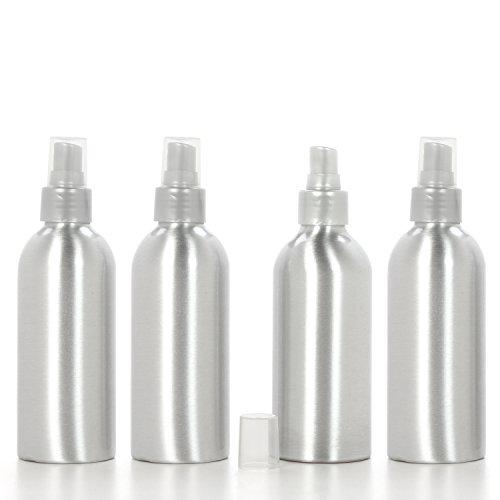 HOSLEY \'s Spray Flasche mit Sprüher (leer), Set 4, 6 oz ideal für Aufbewahrung von ätherischen Ölen, DIY Diffusoren, Craft Projekte, Hochzeit, Party O5.
