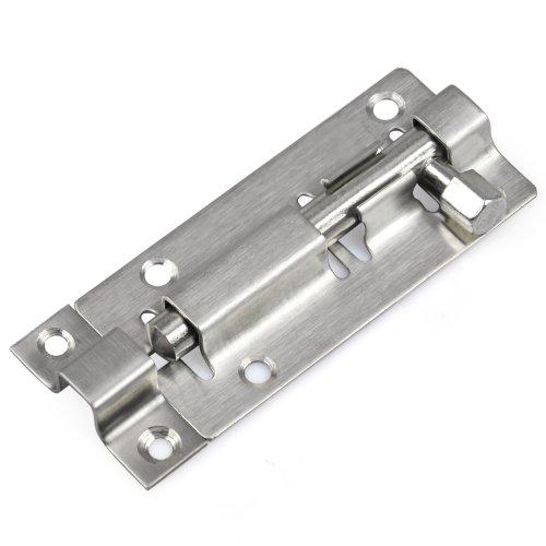 TRIXES 75 mm Türriegel für Badezimmer, Toilette, Schuppen, Schlafzimmer, Schnappriegel, einfache Montage (Schlösser Und Riegel)