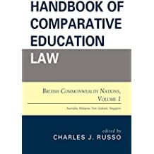 Handbook of Comparative Education Law: British Commonwealth Nations