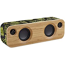 The House Of Marley Get Together Mini Mono portable speaker 24W Negro, Verde, Madera - Altavoces portátiles (1,91 cm, 6,35 cm, 24 W, 80 - 20000 Hz, Inalámbrico y alámbrico, Bluetooth)