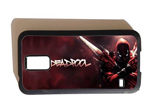 ive GPO Gruppe, Deadpool Marvel Superhelden Samsnug Design Galaxy S5 Phonecase Hartschale aus Gummi (Deadpool Kostüm Design)