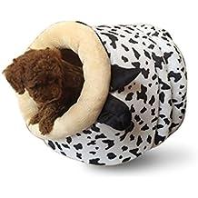 LA VIE Casa Adorable para Mascotas Casita Lavable para Cachorros Cueva Hideout para Gato Cesta Cama Nido Suave Acogedor para Gatos Perros Pequeños o Otras ...