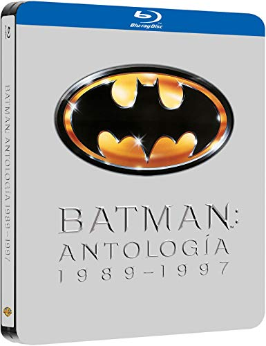 Pack Batman 1989-97 Black Metal Edition Blu-Ray...