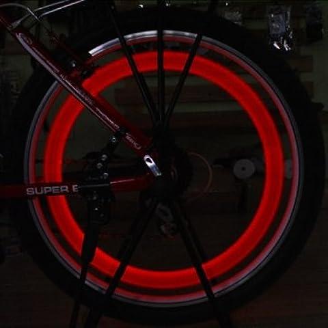 Bheema Skull protezione di valvola della luce Auto Moto pneumatico di rotella di colore della lampada in