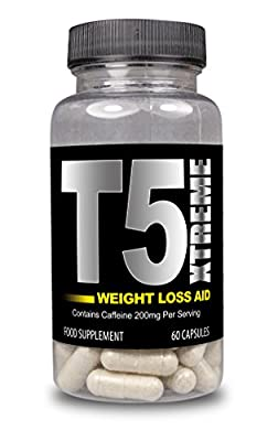 T5 XTREME Fat Burner Supplements by Natural Answers - 60 Capsules - 1 Month Supply - Super Strength Slimming Pills for Men and Women - Thermogenic Fat Burner to Suppress Appetite - Boost Metabolism - Increase Energy - Burn Fat Fast - Extreme Weight Loss A