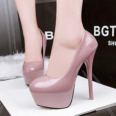 Moda Donna Sandali Sexy donna tacchi Comfort / Round Toe / punta chiusa Casual Stiletto Heel altri nero / verde /rosso/rosa Red
