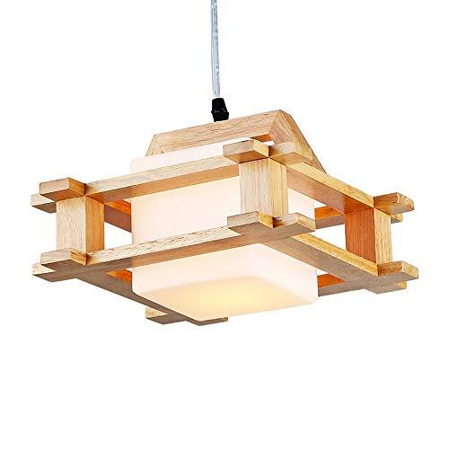 AmzGxp Moderne minimalistische kreative LED Eiche + Glas verstellbare Schlafzimmer Wohnzimmer Esszimmer Studie Kronleuchter/Deckenleuchte/Lampe kreativ -