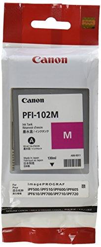 Galleria fotografica Canon PFI-102M Cartuccia ad Inchiostro Solido, Magenta