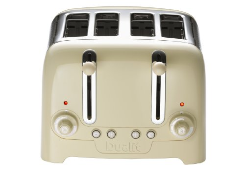 411tRxOMivL - BEST BUY #1 Dualit 46202 4 Slot Lite Toaster in Cream Gloss Finish Reviews and price compare uk