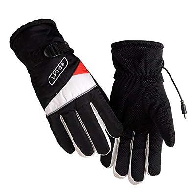 Cosy-TT Beheizbare Handschuhe, batteriebetriebene nachladbare erhitzte Handschuhe für Männer/Frauen, Wasserdichte Isolierte elektrische Heizung Thermisch, umweltfreundlich