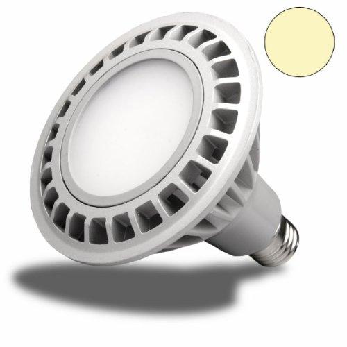 LED PAR30, E27, 230V, 15W, 120°, luce bianca calda, dimmerabile-lampadine
