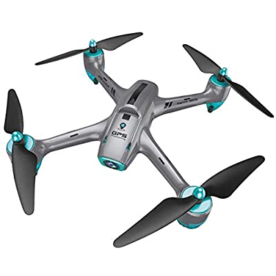 Beginner RC Quadrocopter Mini Drone with Camera HD Utoghter 6957G HD Aerial Photography Drone with Headless Mode GPS 5G WiFi Video Camera Transmission 720P Wide Angle Lens APP Control RC Drone