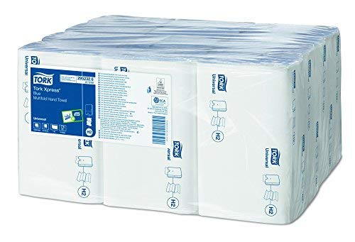 Tork 471069Handtuch, Xpress Multifold, 1-lagig, blau (3000Stück) (Papier-handtuch-refill)