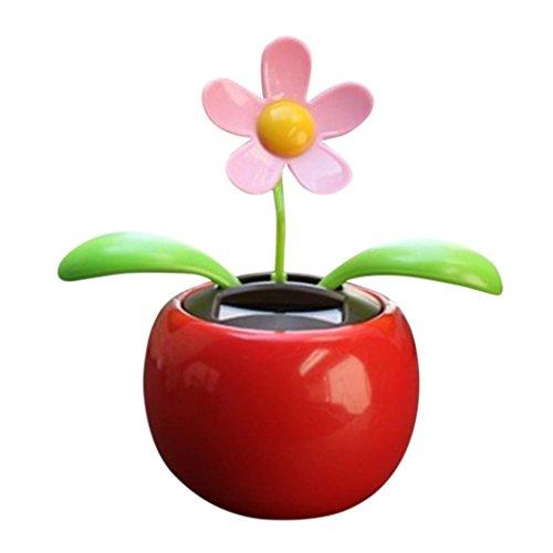 ne tanzende Blume Schwingen Animierte Tänzer Spielzeugauto Dekoration (rot) (Beste Halloween, Das Licht Zeigt Immer)