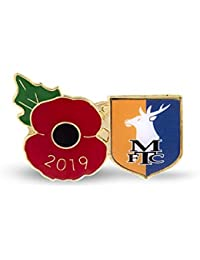 The Royal British Legion Mansfield Poppy Football Pin 2019