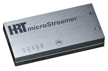 HRT 348Micro Dampfgarer Konverter D/A USB und Verstärker für Kopfhörer, Silber