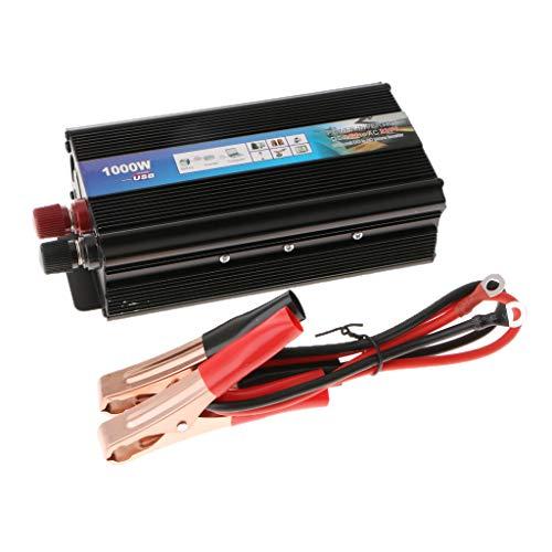 Homyl Spannungswandler Wechselrichter DC 12V auf AC 220V Power Inverter Converter mit Kabel 220v Dc-inverter