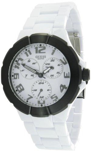 Guess Reloj Análogo clásico para Hombre de Cuarzo con Correa en Resina W11594G4