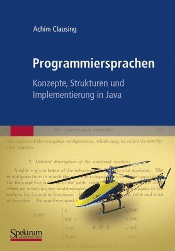 Programmiersprachen - Konzepte, Strukturen und Implementierung in Java