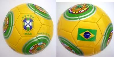 """Ballon officiel, certifié Authentique du Brésil Coupe du monde """"CSF"""" taille 5"""