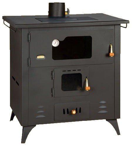 Küchenofen Prity mit Backofen und Kochplatte, Modell R, Leistung 14 kW