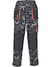 Terratrend Job 3230–60–6210Größe 60Herren 's-trousers–Camouflage/grau/schwarz