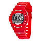 FC Bayern München Digitaluhr Kids + gratis Sticker, Armbanduhr FCB Watch ver Regarder 22716