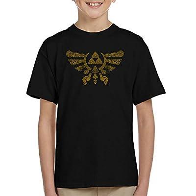 Henna Hylian Symbol Zelda Kid's T-Shirt