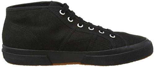 Superga 2754 Cotu, Sneakers Hautes mixte adulte Noir (996)