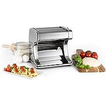 Oneconcept Corleone máquina para Hacer Fideos Pasta Fresca eléctrica (90W Potencia, 6 grosores Diferentes