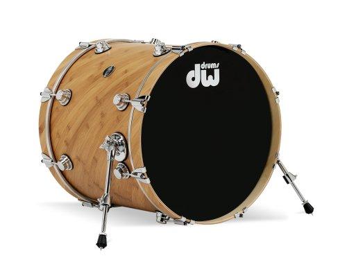 DW Drums Eco-X Kicktrommel, 18x20, Desert Sand Finish - Sand Finish