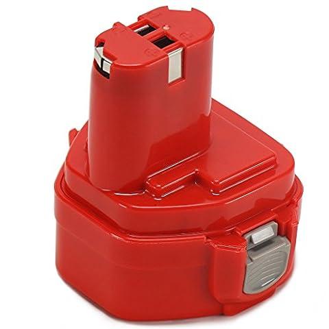 Batterie Pour Perceuse - POWERAXIS 12V 3000mAh NI-MH Visseuse Remplacement Batterie