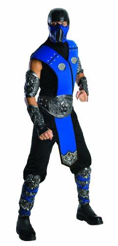 Mortal Kombat Sub-Zero Deluxe Kostüm für Herren, -