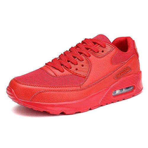 Men's Comfortable Outdoor Running Shoes red
