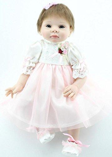 NPKDOLL Reborn Bambino Bambola Morbido Silicone 22 Pollici 55 Centimetri