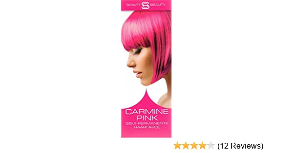 Smart Color Smartbeauty Semi Permanent Haarfarbe Carmine Pink, 1er ...