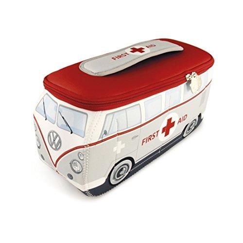 BRISA VW Collection VW T1 Bulli Bus 3D Neopren Universaltasche - First Aid