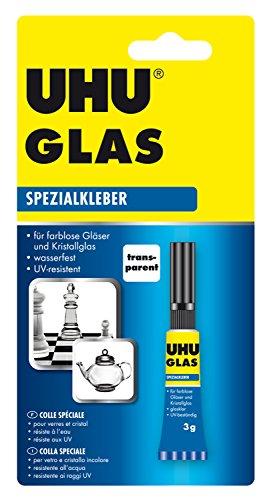 3g Glas (UHU 46685 Spezialkleber Glas, Tube mit 3 g)
